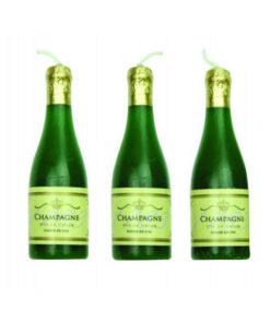 Geburtstagskerze Champagne