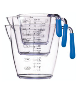 Messbecher Set blau