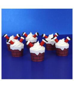 PME Santa Cupcake Dekoset