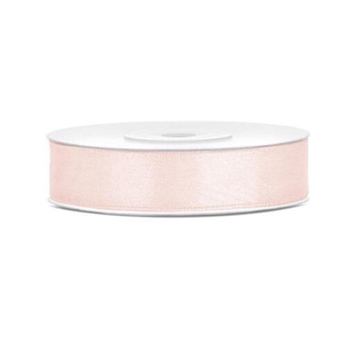 Satinband - lachs, 12mm