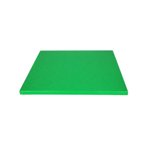 Tortenplatte - quadratisch (30cm) grün