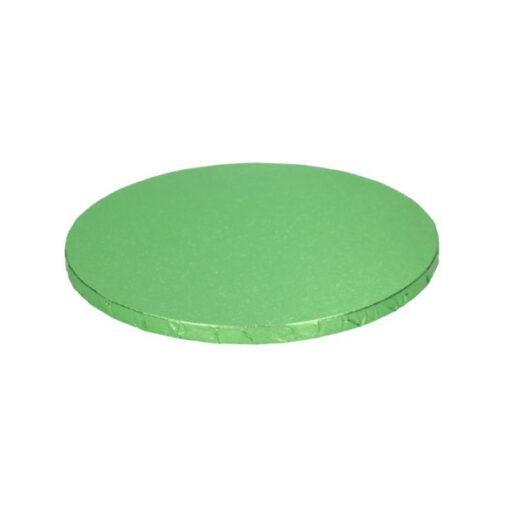 Tortenplatte - rund (25cm) hellgrün
