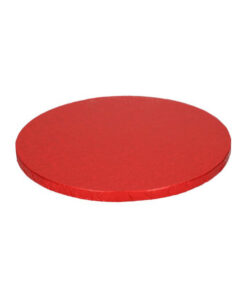 Tortenplatte - rund (25cm) rot
