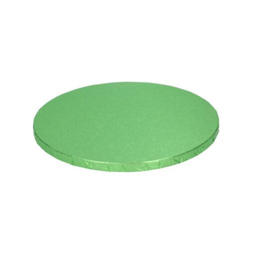 Tortenplatte - rund (30cm) hellgrün