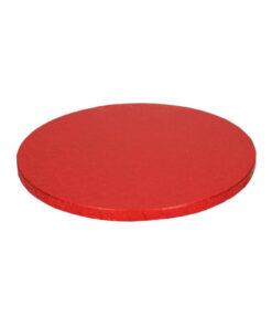 Tortenplatte - rund (30cm) rot