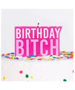 Geburtstagskerze - BIRTHDAY BITCH