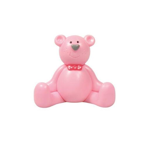Figur - Teddy rosa
