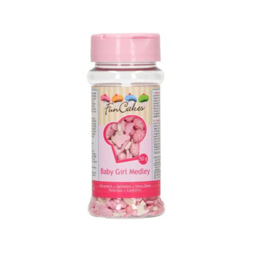 FunCakes Streusel Baby Girl Mix 50g