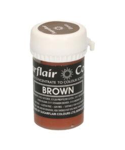 Lebensmittelfarbe Paste - Braun
