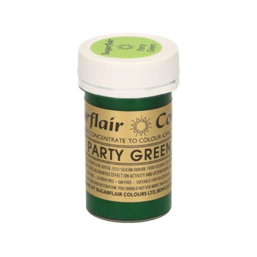 Lebensmittelfarbe Paste Grün - Party Green