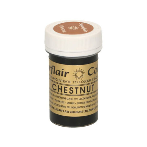 Lebensmittelfarbe Paste Kastanienbraun - Chestnut