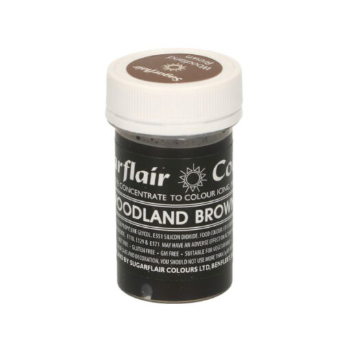 Lebensmittelfarbe Paste Pastell Waldbraun - Woodland Brown