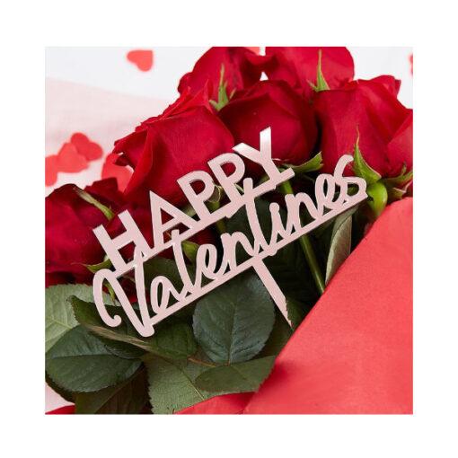 Topper hoch - HAPPY Valentines
