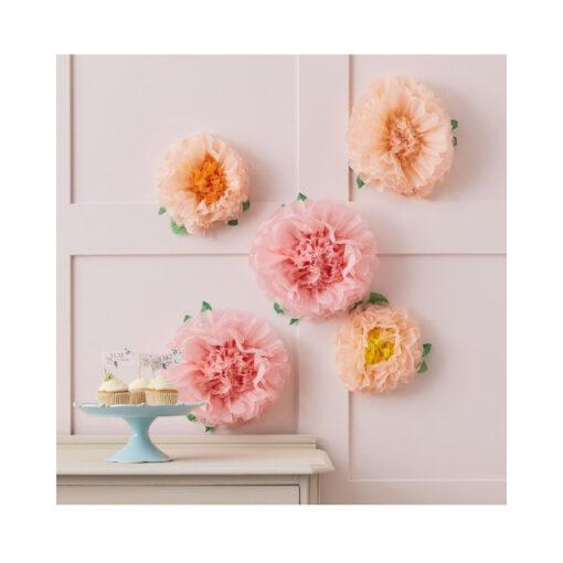 Pom Poms - Blumen