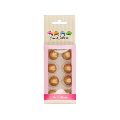 Choco Perlen, gold