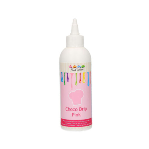 FunCakes Choco Drip rosa, 180g