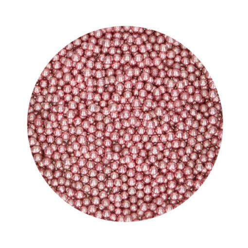 FunCakes Zuckerperlen - metallic rosa