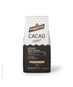 Kakao Pulver - Intensives tief schwarz