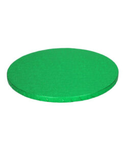 Tortenplatte - rund (25cm) grün