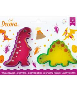 Ausstecher 2er Set - Dinosaurier
